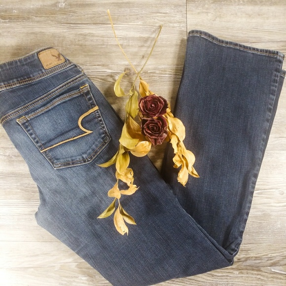 American Eagle Outfitters Denim - American Eagle Super Stretch Kick Boot Jeans